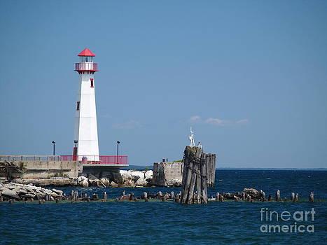 Wawatam Lighthouse by Melissa McDole