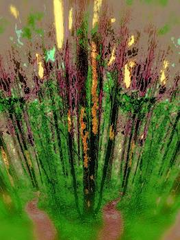 Wax Forest Cathedral by Laureen Murtha Menzl