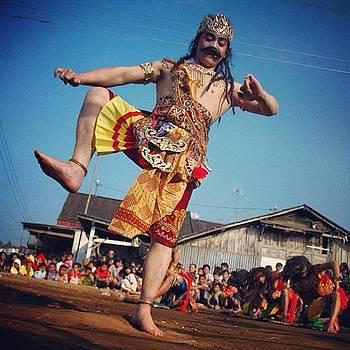 Wayang Orang #dieng #anggrunggondok by Dani Daniar