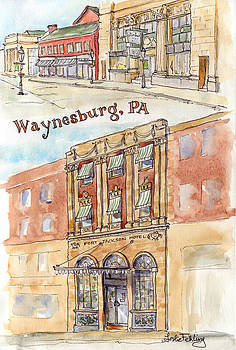 Waynesburg Views by Leslie Fehling