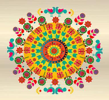 Wayuu Art Sunny Day by Gabriela Delgado