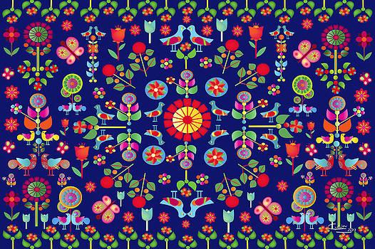 Wayuu Tapestry by Gabriela Delgado
