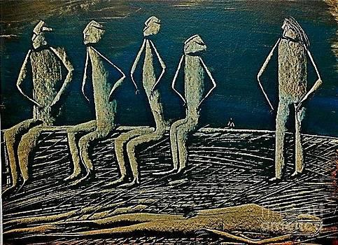 We are seven by Qamar Riaz