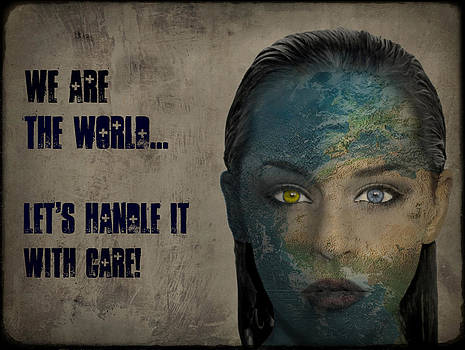 We Are The World by Marie  Gale