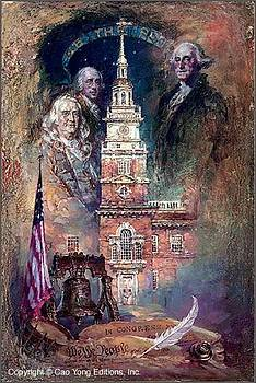We The People Painting by Cao Yong