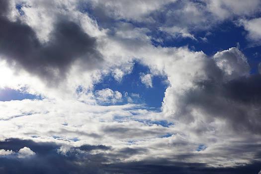 Baslee Troutman - Weather Art Prints Clouds Blue Sky