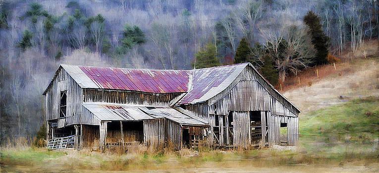 Weathered Barn by Kathy Jennings