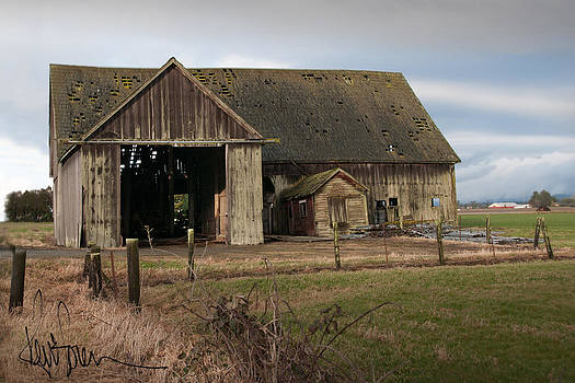 Weathered Barn Of Skagit County by Kent Sorensen