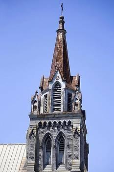 Veronica Vandenburg - Weathered Church Steeple