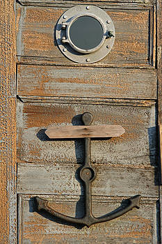 Juergen Roth - Weathered Door with Anker