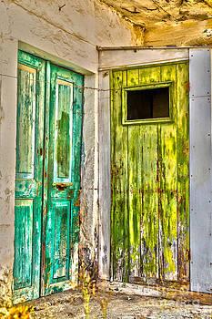 Patricia Hofmeester - Weathered doors