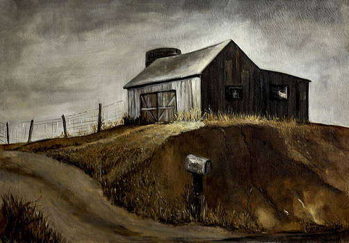 Lynn Palmer - Weathered Indiana Barn