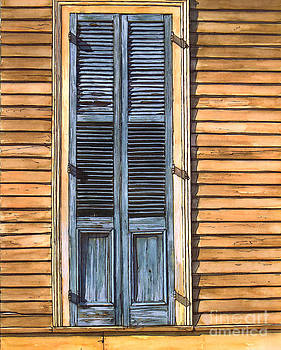 Weathered Shutters by John Boles