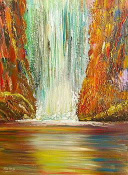 Weathering Waterfall  by Francisco Sanchez Salas