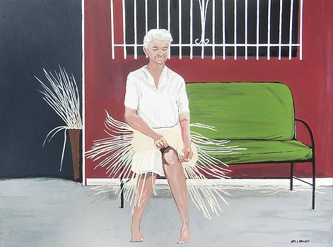 Weaver Woman by Otis L Stanley