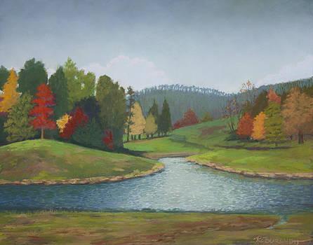 Weaverville Autumn by Regina Calton Burchett