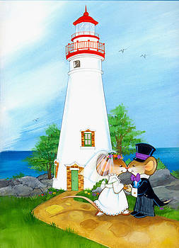 Wedding at the Lighthouse by Jodie McCallum