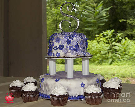 Leslie Cruz - Wedding Cake 1