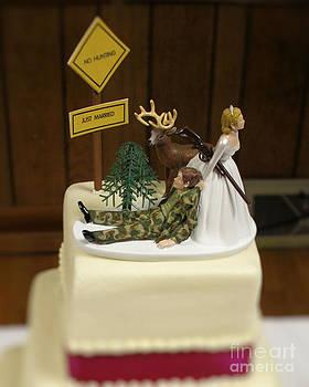 Wedding Cake topper 2 by Denise Jenks