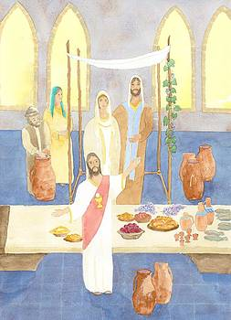 Wedding Feast at Cana by John Meng-Frecker