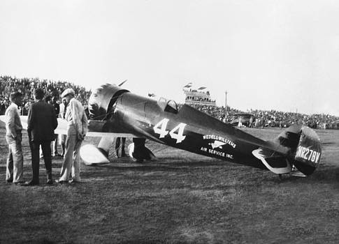 Wedell-Williams Racer circa 1930 by Henri Bersoux