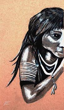 Weensizeneet. An Arapaho boy. ca. 1890 by Ayasha Loya