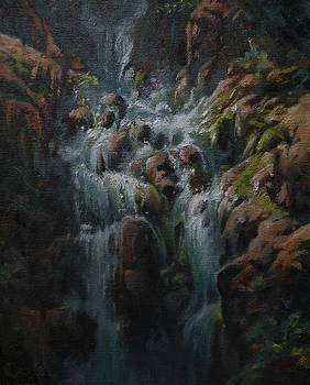 Weeping Rocks by Mia DeLode