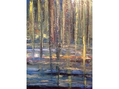 Weeping Willows by Brigitte Roshay