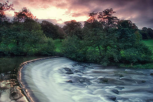 Weir at Chatsworth by Wayne Molyneux