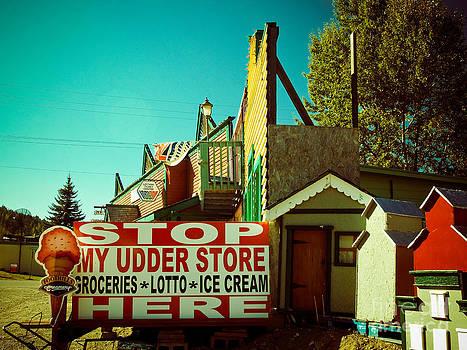 Weird signs-My Udder Store by Emilio Lovisa