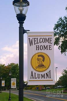 Mark Dodd - Welcome Home Banner