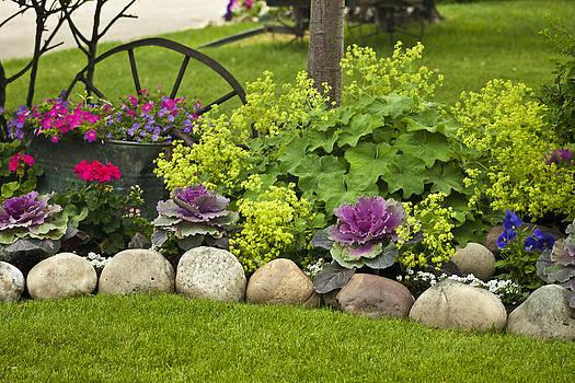 Sandra Foster - Welcome Mat Garden Scene