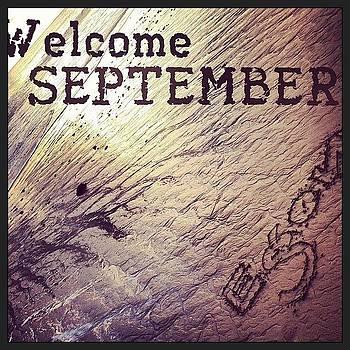 #welcome #september #egonoo #just #be by Orlando Gonzalez