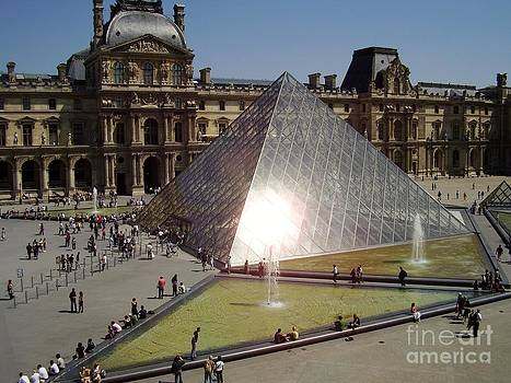 Welcome to the Louvre by Valerie Shaffer