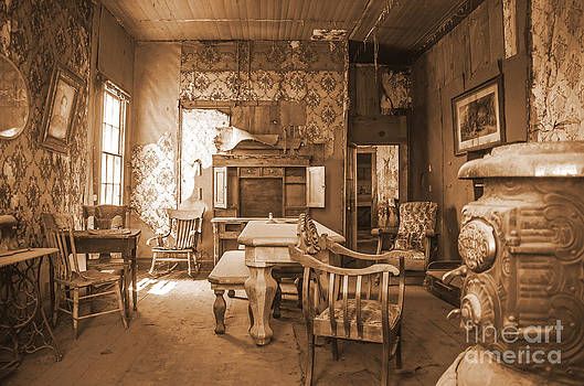 Stephen Whalen - Welcome to the Parlor in Sepia