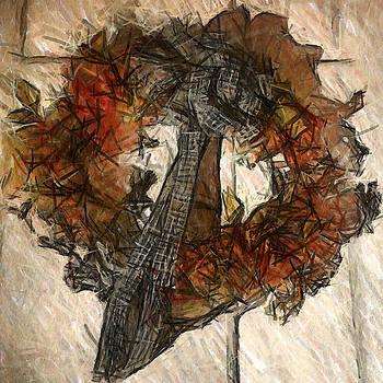 Welcome Wreath by Patricia Januszkiewicz