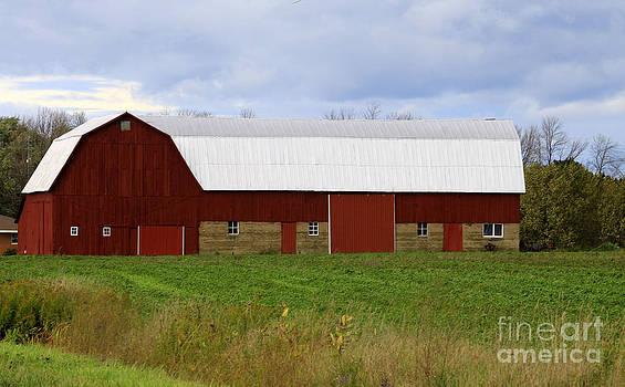 Well Kept Barn by Kathy DesJardins