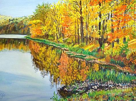 Wendy's Pond by Frank Giordano
