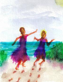 We're at the Beach by Debbie Wassmann