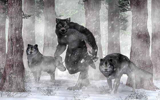 Daniel Eskridge - Werewolf and Wolves