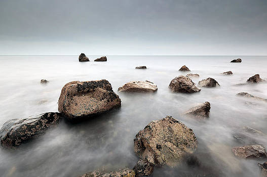 West coast rocks by Grant Glendinning