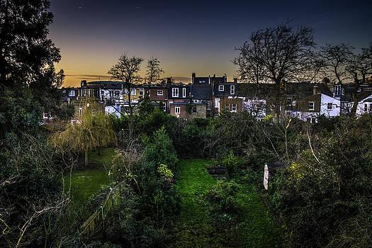 West Hampstead Sunset by Rob Tullis