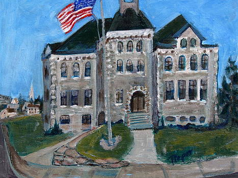 Betty Pieper - West Hill School in Canajoharie New York