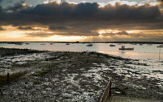 West Mersea view by David Isaacson