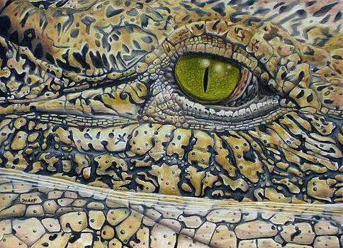 West Nile Crocodile by Karen Sharp