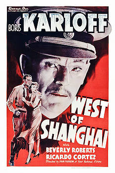 West Of Shanghai, Us Poster Art, Boris by Everett