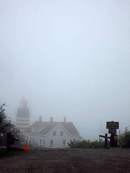West Quoddy Lighthouse by Jen Seel
