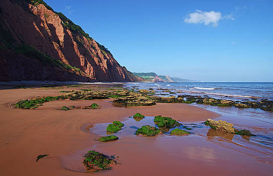 West Sidmouth Beach by Pete Hemington