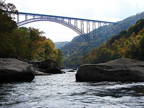 West Virginia New River Gorge Bridge by Ella Char