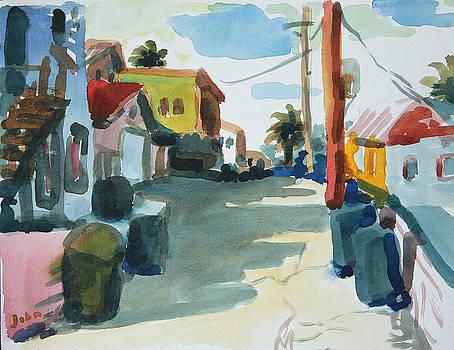 Westerly Terrace by John Matthew